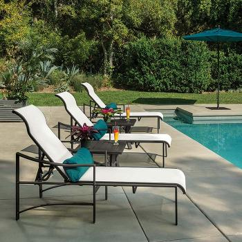 outdoor sling furniture