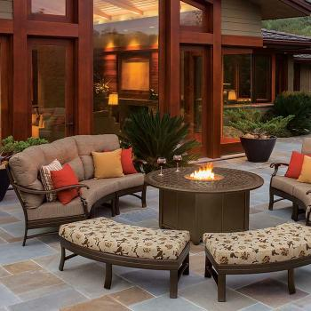 patio cushion crescent furniture