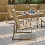 modern padded sling outdoor furniture